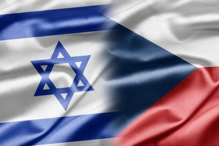 Israel and Czech Republic Stock Photo - 14494168