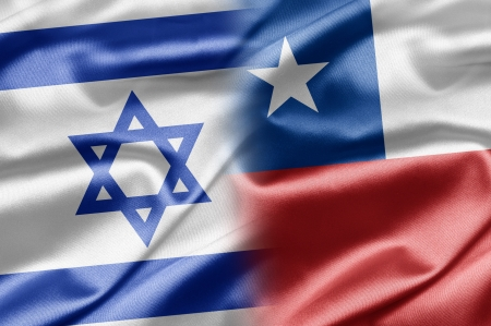 Israel and Chile Stock Photo - 14494173