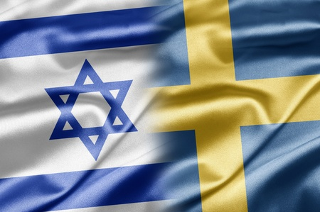 Israel and Sweden Stock Photo - 14494174