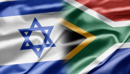 Israel and South Africa Stock Photo - 14494178