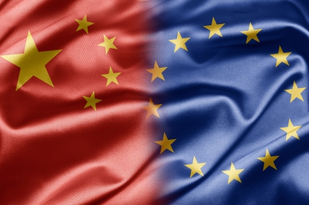 China and European Union photo