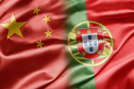 China and Portugal Stock Photo - 14567909