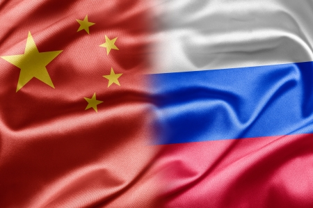 China and Russia Stock Photo - 14567901