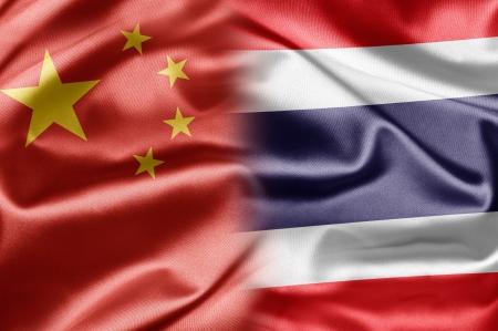 China and Thailand Stock Photo - 14567896