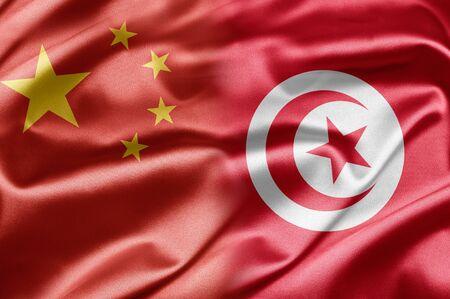 China and Tunisia Stock Photo - 14567908