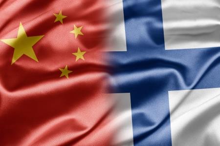 China and Finland Stock Photo - 14567891