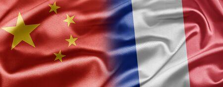 China and France Stock Photo - 14567888