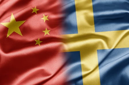 China and Sweden Stock Photo - 14567903
