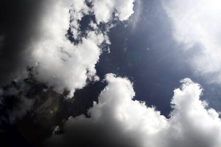 Dramatic sky before storm  Dark ominous clouds Stock Photo - 14648662