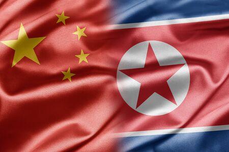 China and North Korea photo
