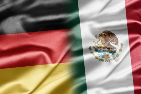 Alemania y M�xico Foto de archivo - 14700625