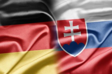 Germany and Slovakia Stock Photo