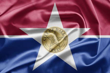 Flag of Dallas city photo