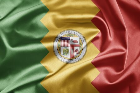 Flag of Los Angeles photo
