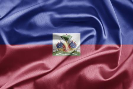 port au prince: Bandera de Hait�