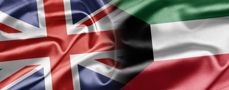 UK and Kuwait Stock Photo - 15202795