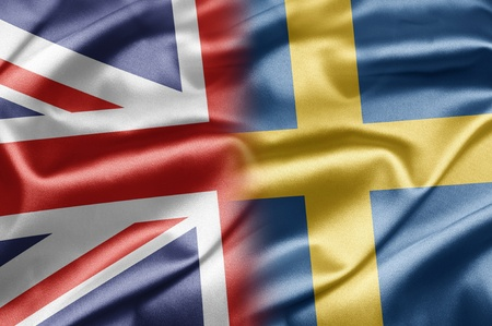 UK and Sweden Stock Photo - 15202807