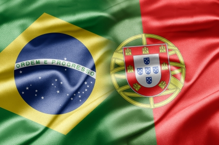 bandera de portugal: Brasil y Portugal