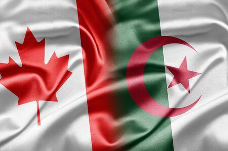 algerian flag: Canada and Algeria