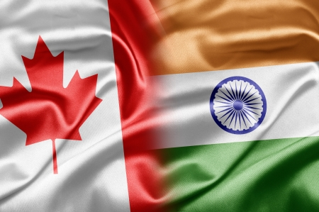canadian flag: Canada and India