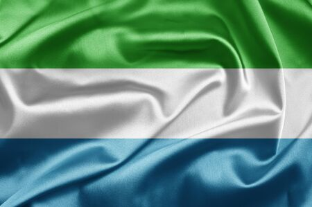 Flag of Sierra Leone photo