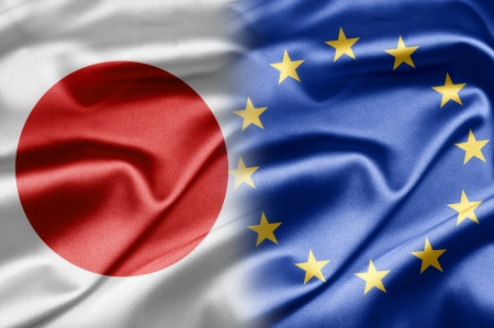 Japan and EU  photo