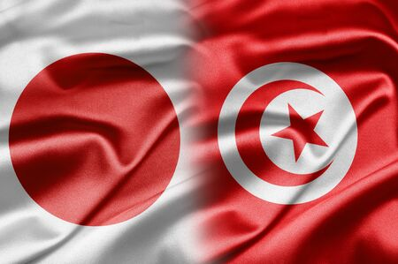 Japan and Tunisia photo