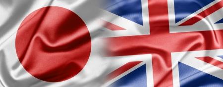 kingdoms: Japan and UK Stock Photo