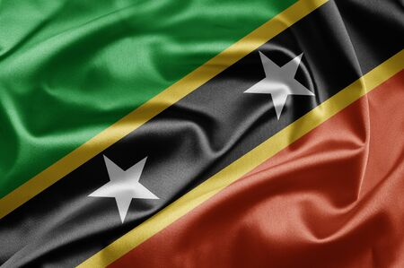 federation: Federation of Saint Kitts and Nevis Flag
