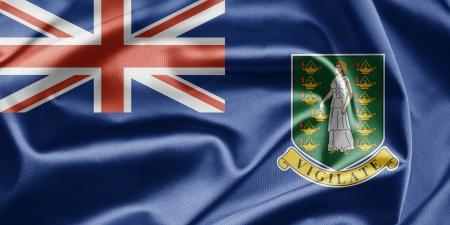 virgin islands: Flag of British Virgin Islands Stock Photo