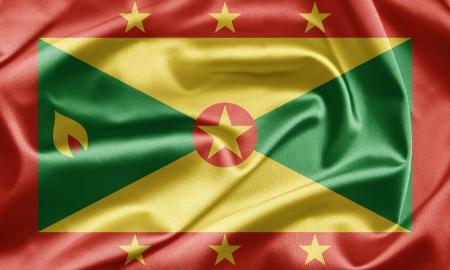 grenada: Flag of Grenada Stock Photo