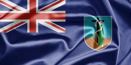 brutish: Flag of Montserrat Stock Photo