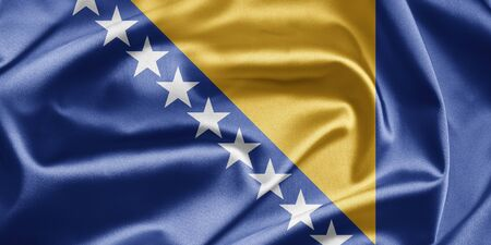Flag of Bosnia and Herzegovina photo