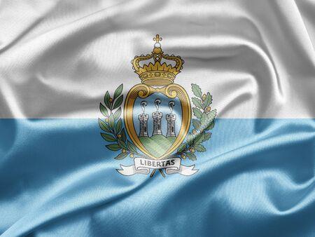 san marino: Flag of San Marino
