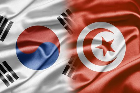 South Korea and Tunisia photo
