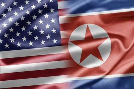 USA and North Korea photo