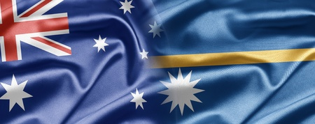 nauru: Australia and Nauru Stock Photo