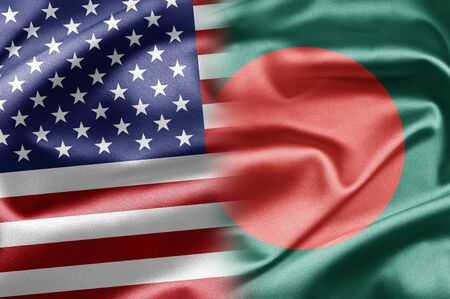 USA and Bangladesh  photo