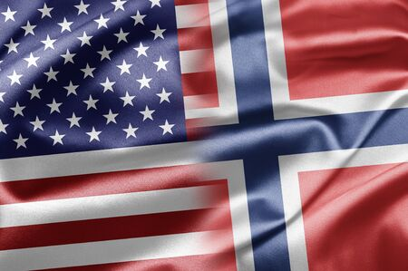 USA and Norway photo
