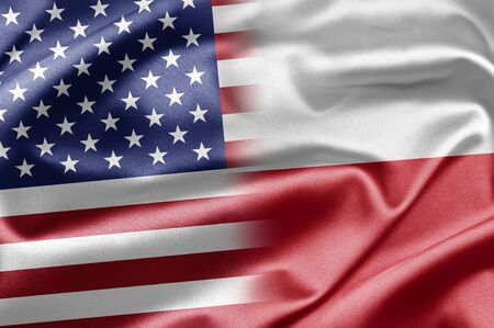 USA and Poland photo