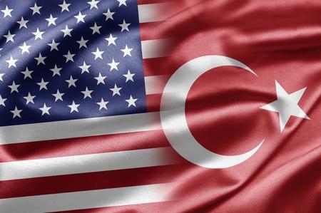 USA and Turkey Stock Photo