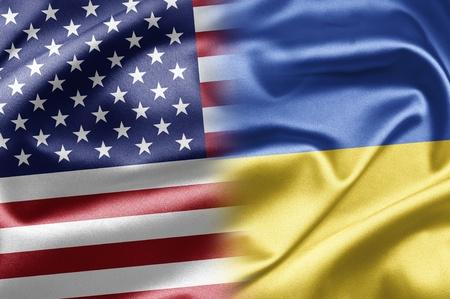 USA and Ukraine Stock Photo - 15105024