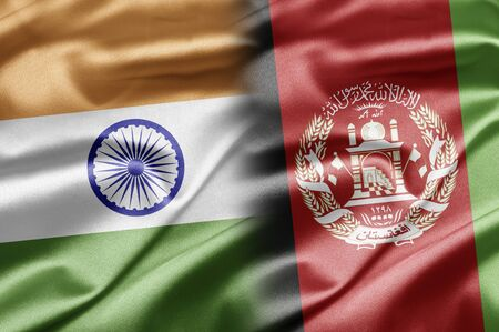 afghanistan flag: India and Afghanistan