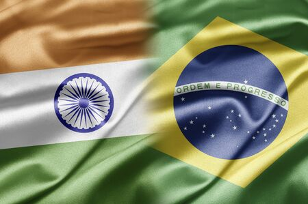 brazilian flag: India and Brazil