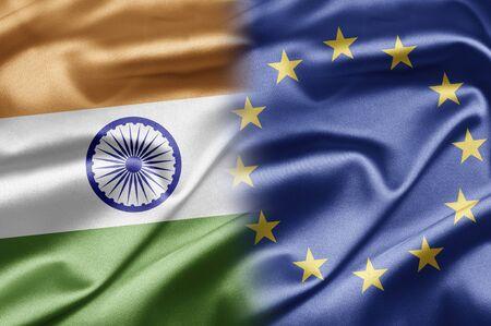 India and EU photo