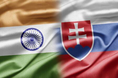 slovakia flag: India and Slovakia