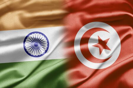 India and Tunisia photo