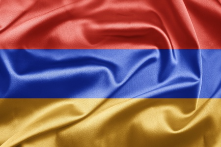 Flag of Armenia photo