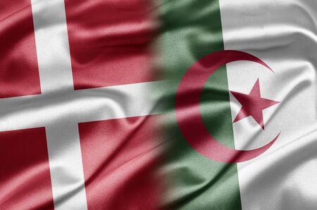 algeria: Denmark and Algeria Stock Photo