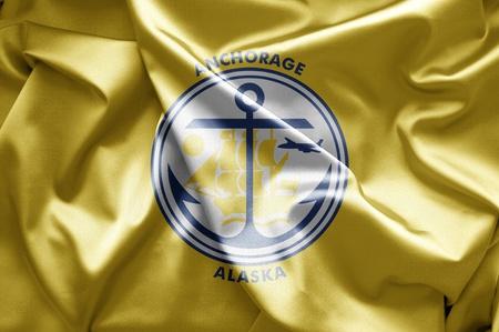 anchorage: Flag of Anchorage, Alaska